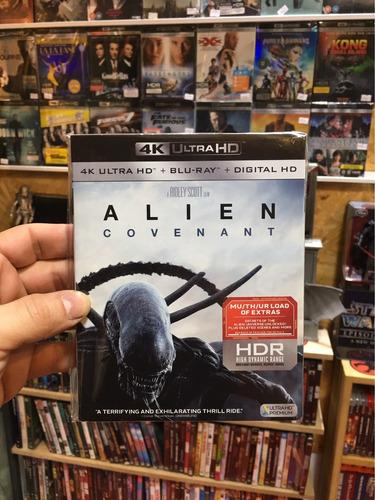 4k alien covenant pre venta somos cine 3-dmania zona 1