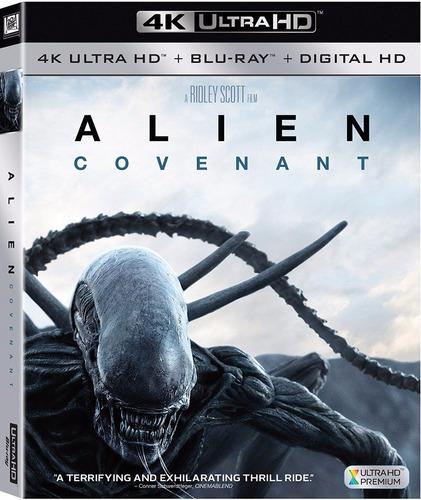 4k ultra hd + blu-ray alien covenant