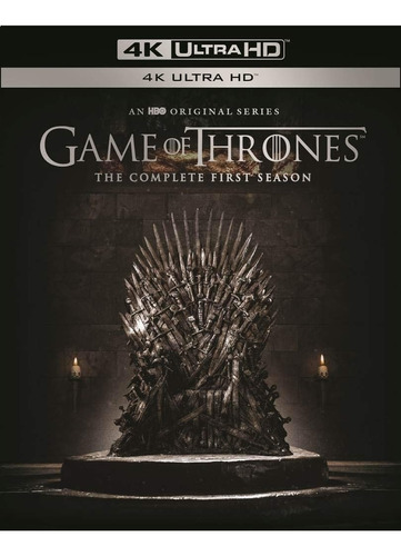 4k ultra hd blu-ray game of thrones season 1 / temporada 1