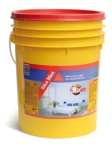 4l pintura mate latex sika sikamax interior y techos!