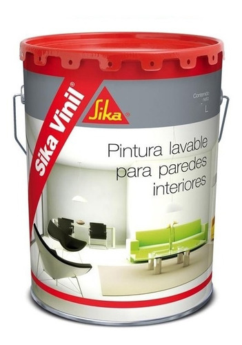 4l pintura sika sikavinil interior lavable antihongos !
