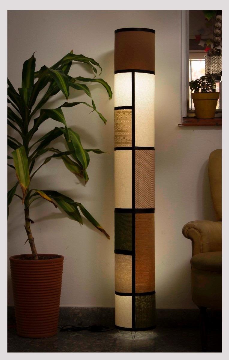 4 lampara de pie artesanal fabrica de pantallas iluminacion en mercado libre - Como hacer lamparas de techo artesanales ...