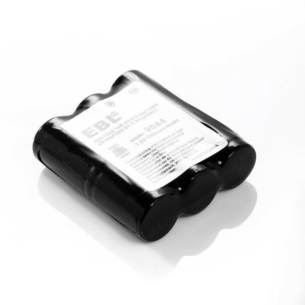 2 Pack 1200mAh 7.2V Radio Battery For Motorola HNN9044 HNN9056 Talkabout Shack