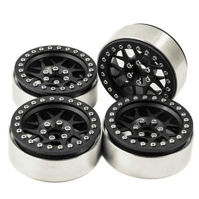 4pcs 2.2'' rueda de beadlock de la aleación llantas con eje