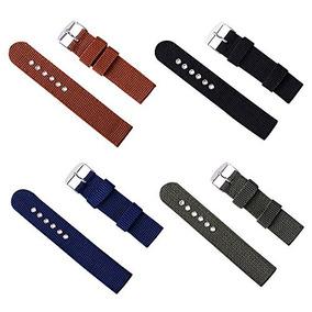 efe3e2a9979a 4pcs Correas De Reloj Clasicas 16mm 18mm 20mm 22mm 24mm Band