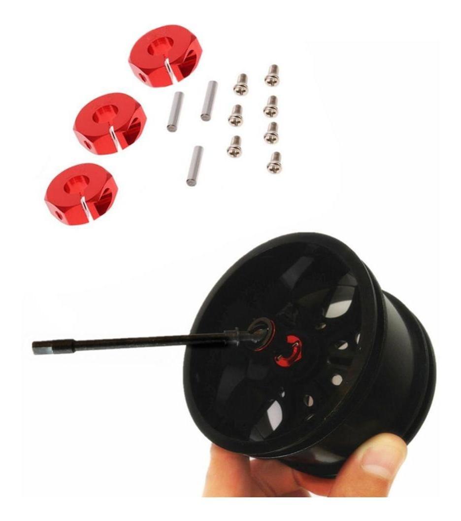 4 tuercas de hexagonal de la rueda 12x7mm unidad de actualización de la