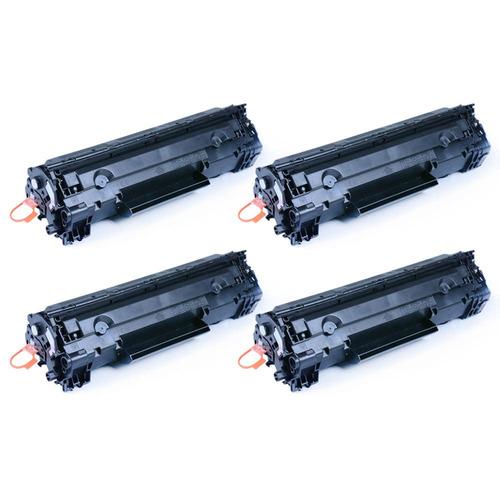 4pk crg128 crg-128 3500b001aa tóner negro para canon imagecl