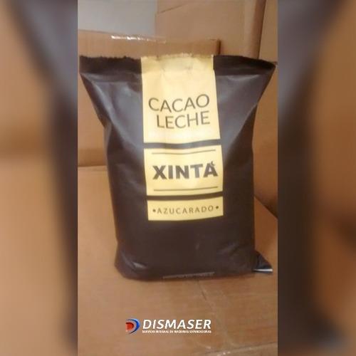 4un xchocolate cacao con leche por 1kg. xinta ideal vending