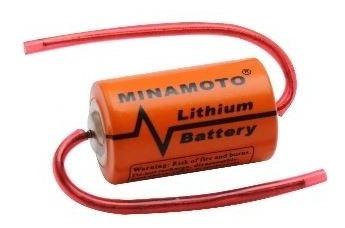 4x 106409 - bateria er14250ax 3,6v 1,2a lithium axial