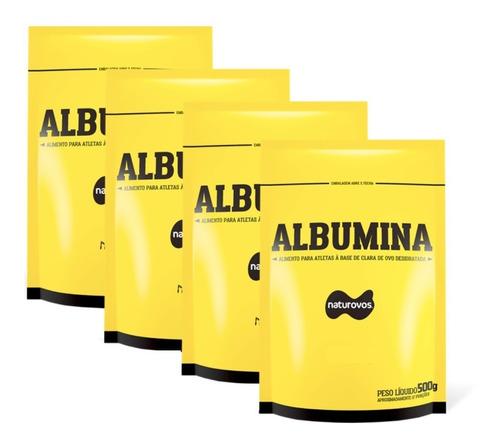 4x albumina 500g (total 2k) naturovos - val 02/2021