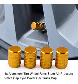 4x Original Bbs Aluminio Tapa Válvula cubre Caucho válvulas sólo