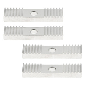 4x Gt2 Timing Belt Fixing Tooth Piece Pitch 2mm Clamp 9*40mm