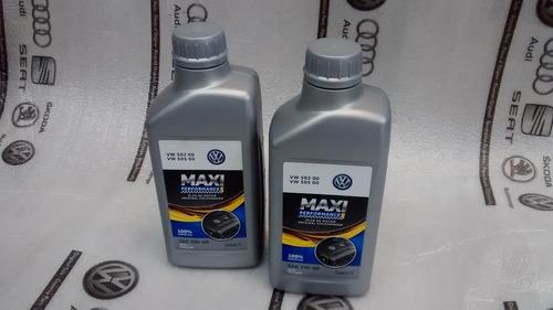 4x óleo motor 5w40 vw50200 5050 maxi performance g052167r2