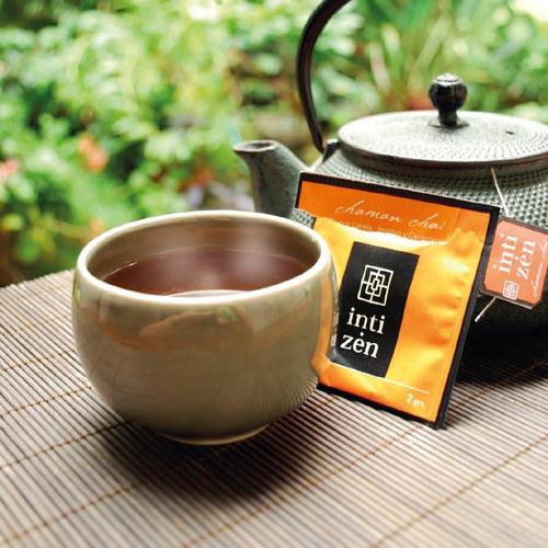 4x te gourmet inti zen o  chamana - 19 variedades a elección