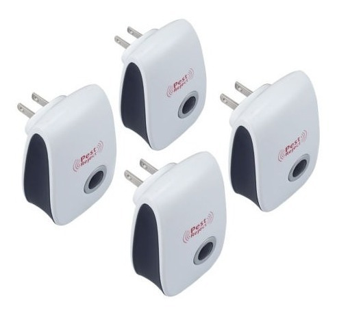 4x ultrasonic pest repeller killer electronic rat mosquito