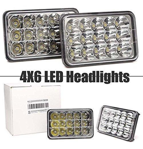 LED Headlight Sealed Headlamp Upgrade for GMC TopKick C4500 C5500 Truck 2 Pack