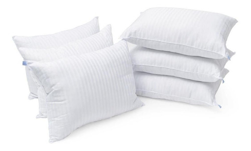 5 + 2 = 7 almohadas microgel hotelera premium 900 grs c/u b