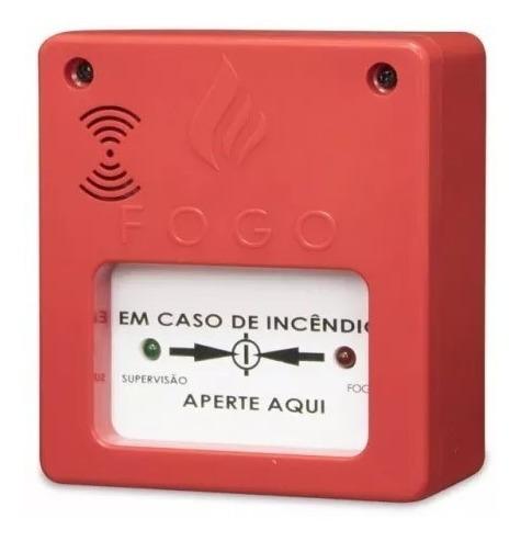 5 acionador de alame incêndio segurança c/ sirene aprovado
