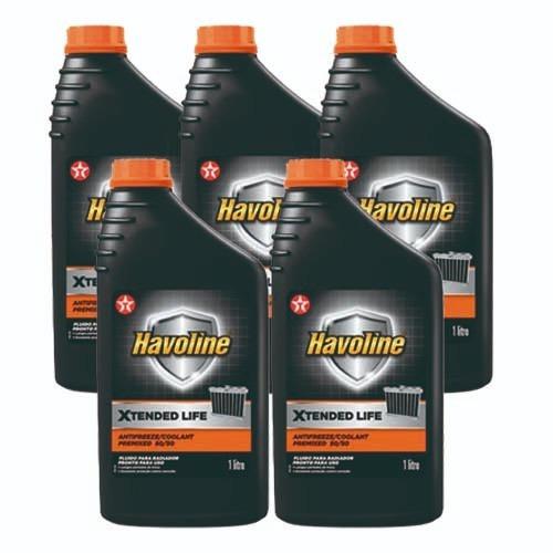 5 aditivo para radiadores havoline texaco pronto uso laranja