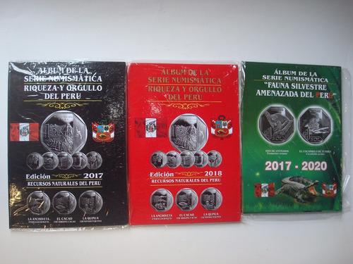 5 albumes álbum de monedas 30 soles oferta delivery gratis