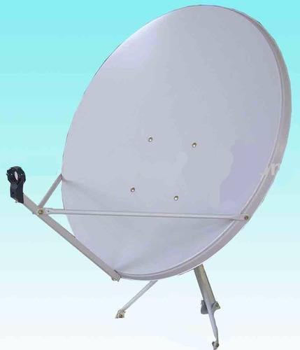 5 antena satelital 60cm marca reconocida con soporte