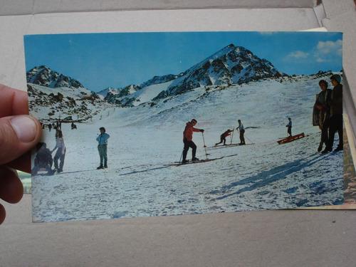 5 antiguas postales de mendoza - precio x lote