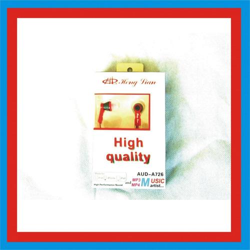 5 audifonos high quality a-726 audio música electrónica dj