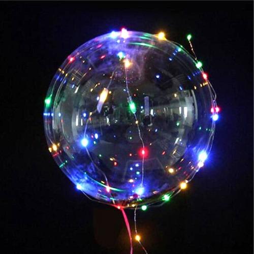 5 baloes de led bubble decoração de festas casamento noivado