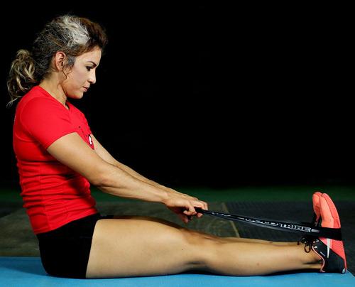 5 bandas ligas de resistencia piernas yoga tapout bold tribe