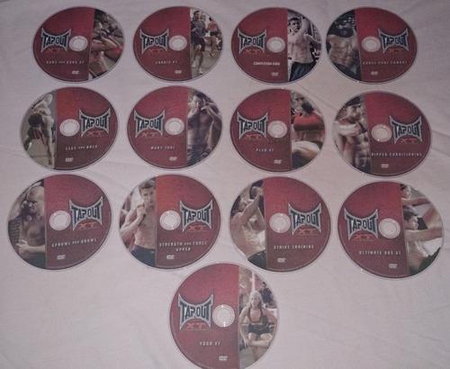 5 bandas tubulares+1 banda circular+13 dvds tapout xt+regalo