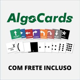 5 Baralhos Algocards 2020 + Frete - Pensamento Computacional