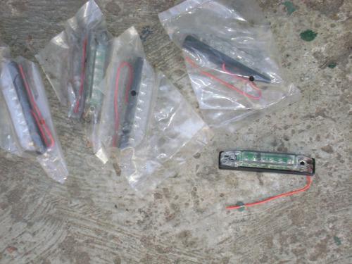 5 barritas de 6 led blancos c.u de 12 vol.