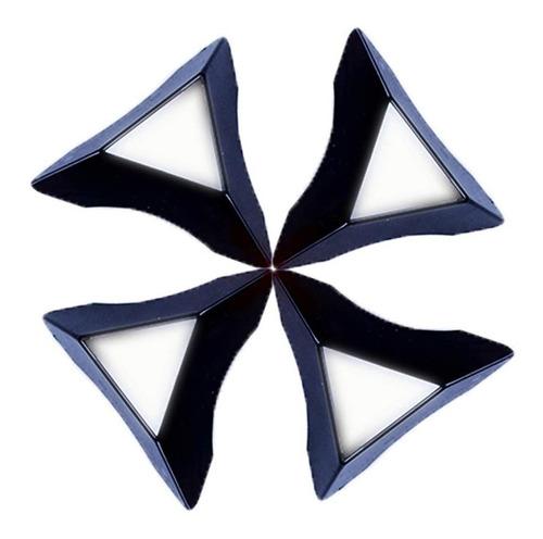 5 bases para cubo rubik exhibición soporte stand negra