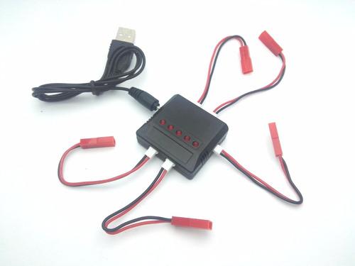 5 baterias lipo 750 mah + cargador sky viper, mjx