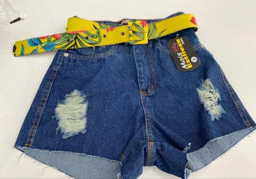 5 bermudas jeans por 100