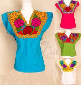 8858a71011 Vestidos Chiapanecas Bordadas en Mercado Libre México