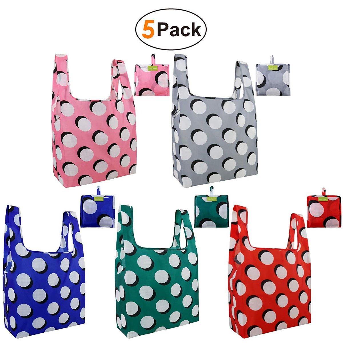 37e976765 5 bolsas ecologicas de supermercado reutilizable de beegreen. Cargando zoom.