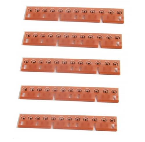 5 borrachas teclado yamaha psr3000 original frete grátis