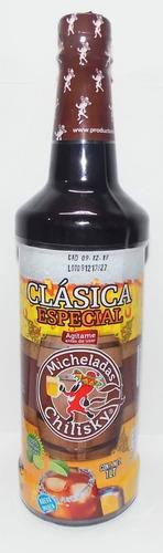5 botellas de micheladas chilisky.(1 lt c/u)