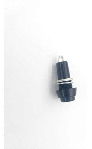 5 botão botoeira plastica on of liga desliga preto contato na/nf