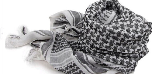 5 bufandas shemagh estilo palestinas