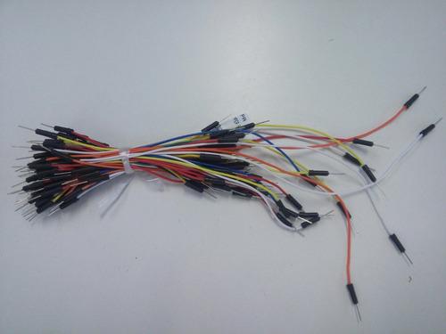 5 cabo jumper cabo fios  macho x macho arduino pic