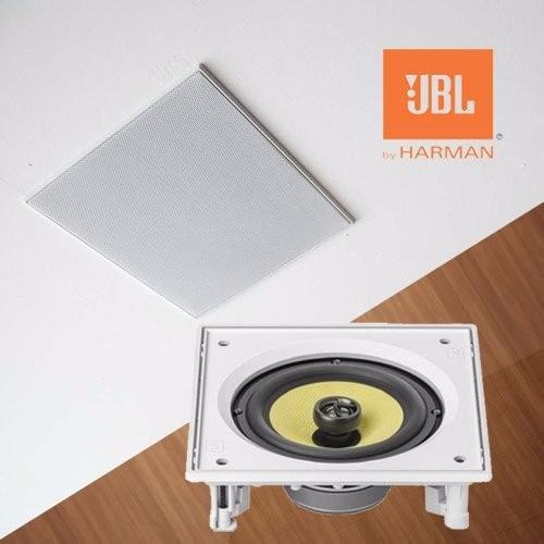 5 caixas acústicas embutir teto jbl angulada ci6sa gesso
