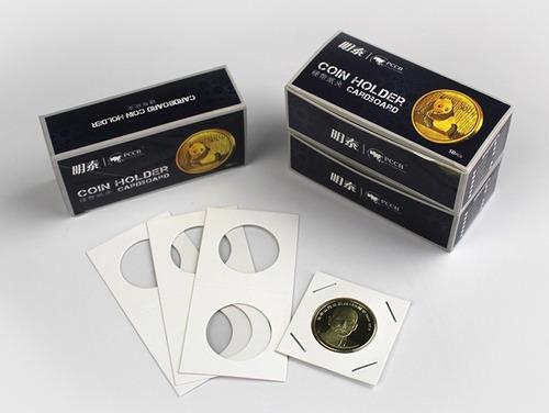 5 caixas coin holder pccb