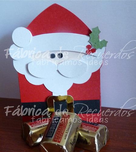 5 cajitas con chocolates para regalos navidad - envío gratis