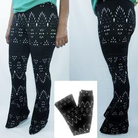 79053ec22 Calça Flare Xadrez - Calçados, Roupas e Bolsas no Mercado Livre Brasil