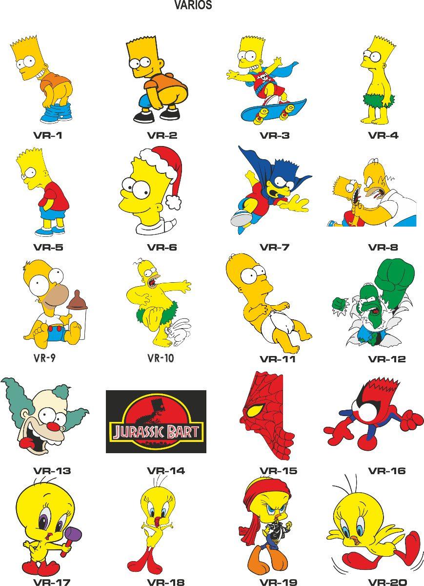 5 calcomanias caricaturas marcas calaveras stickers for Calcomanias pared