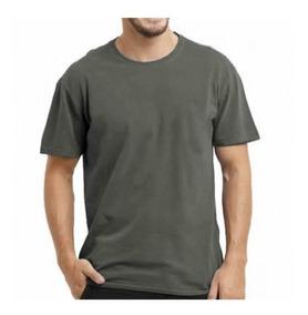 5 Camisa Camiseta Masculina Malha 100% Algodão Atacado