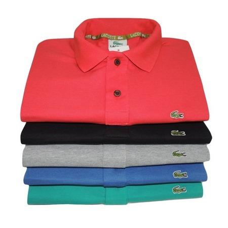 5 Camisas Camisa Polo Lacoste Masculina - R  130,00 em Mercado Livre 018f1df893
