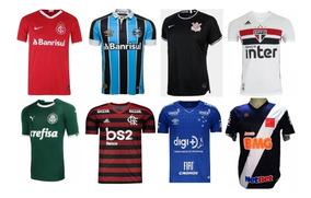 c3780bda18 Lote Camisas De Times Revenda no Mercado Livre Brasil